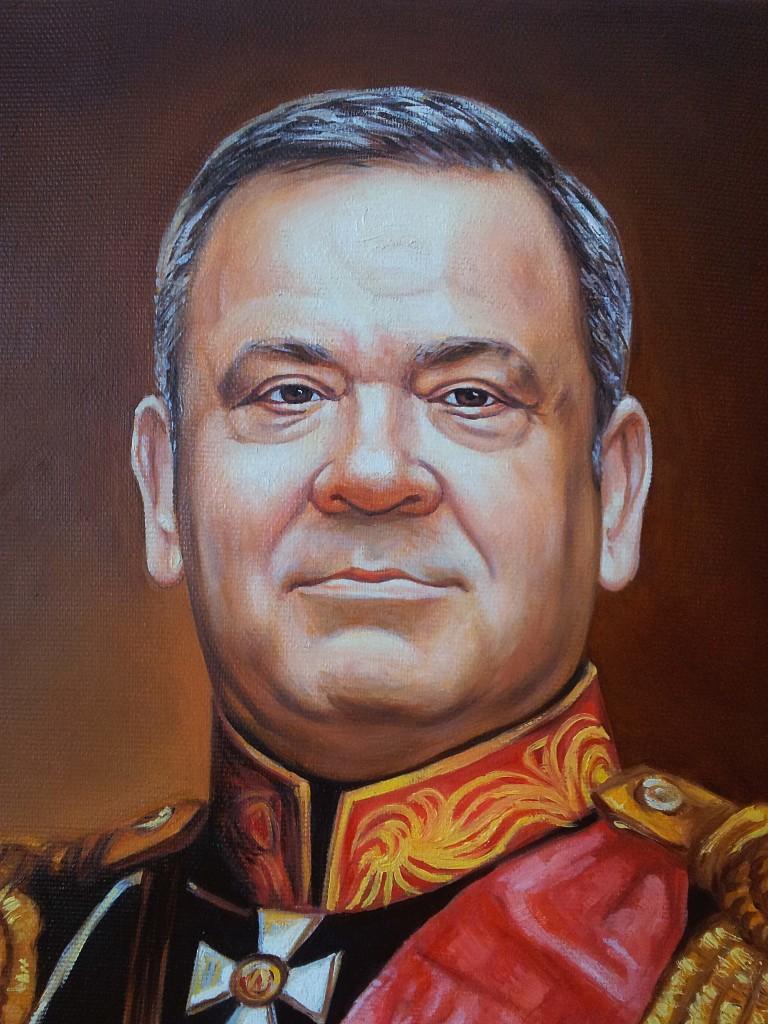 Портрет маслом на холсте в Севастополе