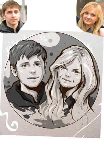 Заказать портрет на годовщину свадьбы в Севастополе