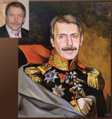 Настоящий портрет маслом на заказ в Севастополе…