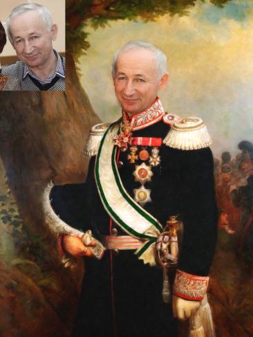 Где заказать исторический портрет по фото на холсте в Севастополе?