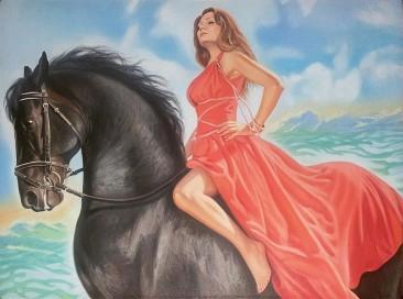 Настоящий портрет маслом на холсте в Севастополе…