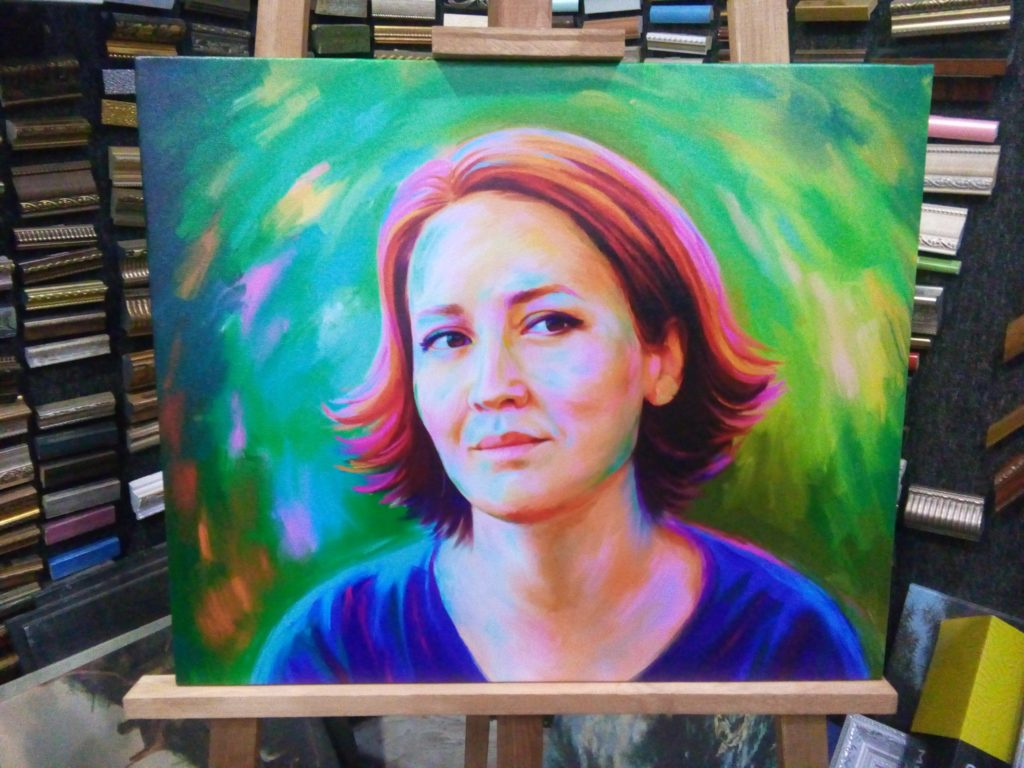 заказать арт портрет