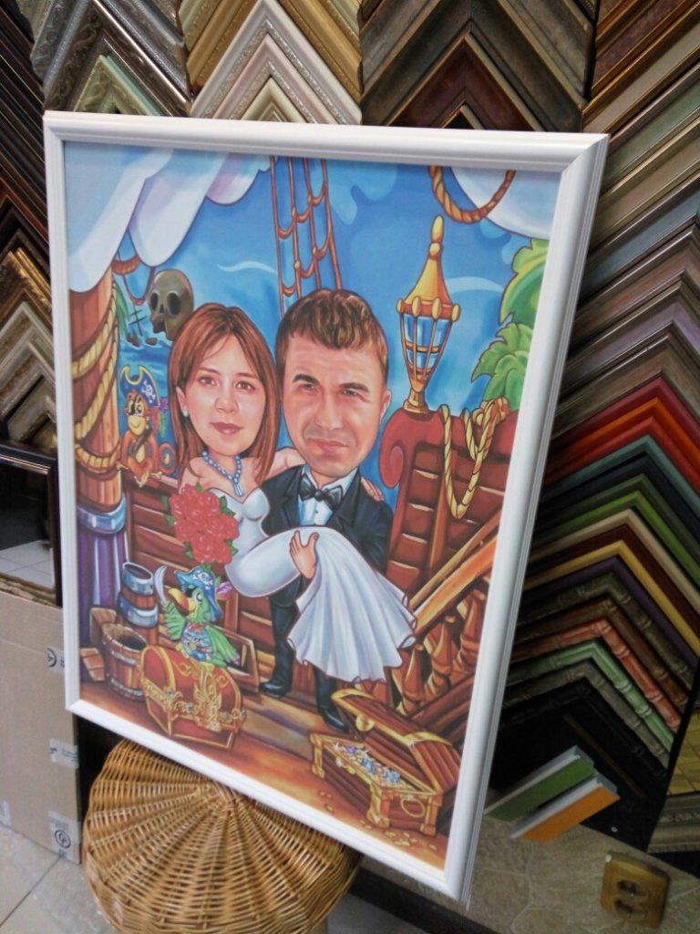 шарж по фото на заказ в Севастополе