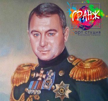 Заказать портрет маслом в Севастополе
