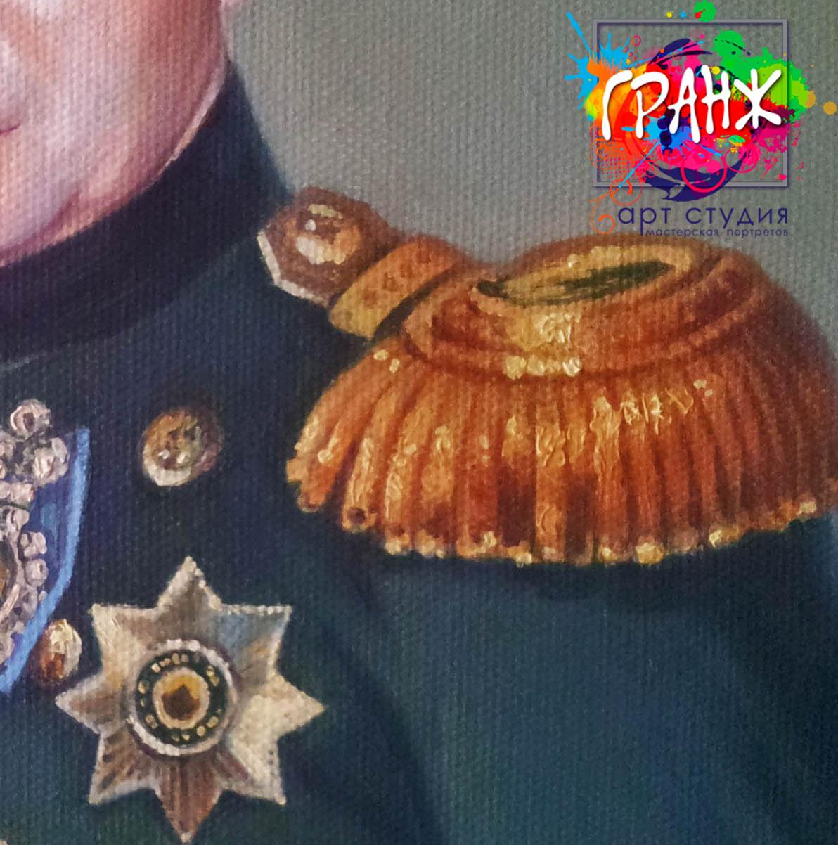 Заказать портрет маслом по фотографии в Севастополе
