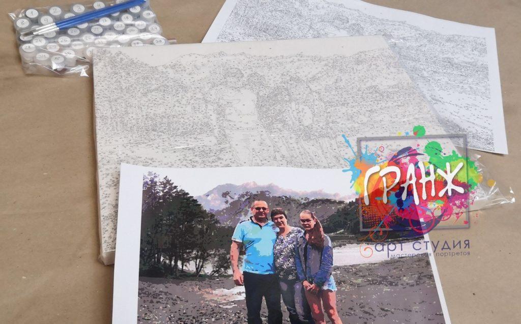 картин по номерам на холсте по фото в Севастополе