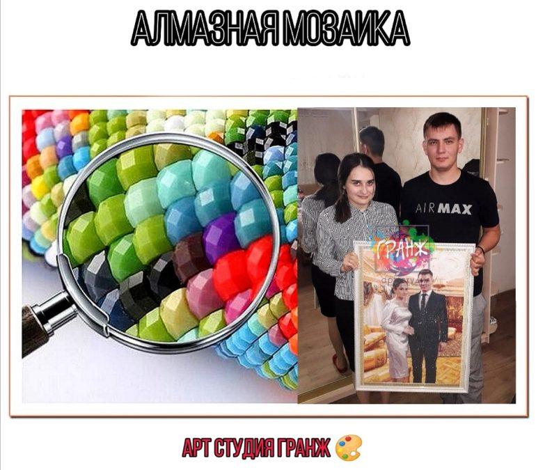 Алмазная мозаика по фото заказать в Севастополе