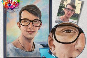 Портретная живопись маслом, купить в Севастополе